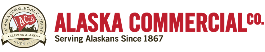 A theme logo of Alaska Commercial